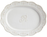 Mud Pie Initial Oval Platter - R