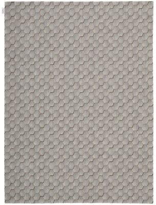 "Calvin Klein Loom Select Chevron Wool Smoke Area Rug Rug Size: Rectangle 5'6"" x 7'5"""