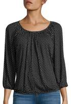 MICHAEL Michael Kors Dotted Knit Shirt
