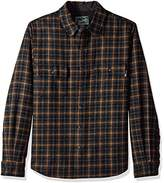 Woolrich Men's Bering Wool Shirt Modern Fit
