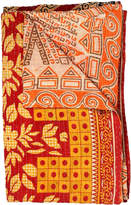 Melange Home One of a Kind Cotton Kantha Oversized Throw