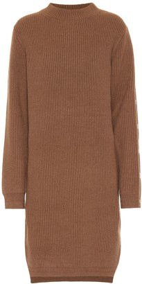 Acne Studios Ribbed-knit wool midi dress