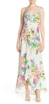 Charlie Jade Women's Floral Silk Maxi Dress