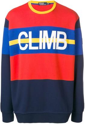 Polo Ralph Lauren Hi Tech colour-block sweatshirt