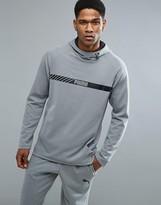 Puma Active Tec Stretch Hoodie In Grey 59253303