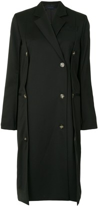 Eudon Choi Double Breasted Button Down Coat