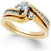 Macy's Diamond Engagement Ring (1/2 ct. t.w.) in 14k White or Yellow Gold