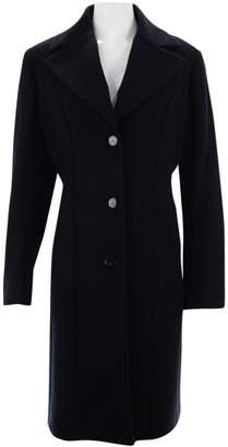 Cole Haan Black Wool Coat for Women