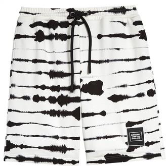 Burberry Alberto Zebra Sweat Shorts