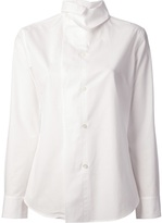 Y's Y ́S high collar blouse