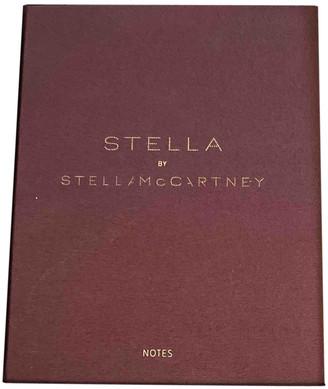 Stella McCartney Burgundy Synthetic Home decor