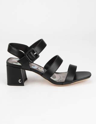Sam Edelman Fisher Womens Black Heels