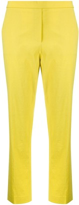 Theory High Rise Slim-Fit Trousers