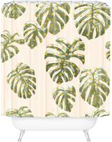 Deny Designs Palm Oasis Shower Curtain
