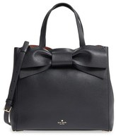 Kate Spade Olive Drive Brigette Leather Satchel - Black