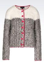 Emporio Armani Color Block Cardigan