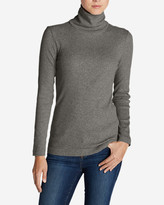 Eddie Bauer Women's Lookout 2x2 Rib Long-Sleeve Turtleneck
