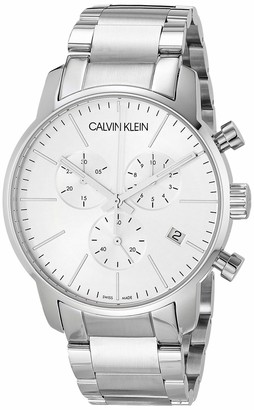 Calvin Klein City Men's Chrono Stainless Steel Bracelet Watch