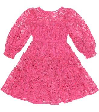 MonnaLisa Floral-lace dress