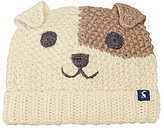 Joules Boys 3D Ear Dog Character Beanie Hat