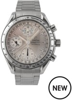 OMEGA Omega Pre-Owned Gents Steel Speedmaster Reduced Triple Calendar Watch, Silver Dial. Ref: 3523.30
