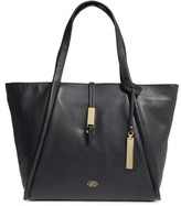 Vince Camuto Reed Small Leather Tote - Black