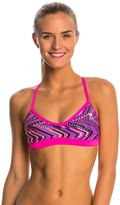 TYR Glitch Twistfit Bikini Swimsuit Top 8145537
