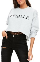 Missguided Women's Female Sweatshirt