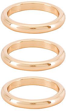 Ettika Three Ring Set