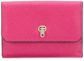 Valextra small continental wallet - women - Calf Leather - One Size