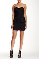 L.A.M.B. Silk Lined Bustier Dress