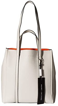 Marc Jacobs The Tag Tote 27 (Porcelain) Tote Handbags