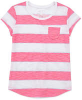 Arizona SS Stripe/Print Fave Tee - Girls' 4-16 & Plus