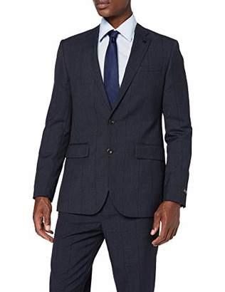 Burton Menswear London Men's Jaspe Check Tailored Suit JacketSize: