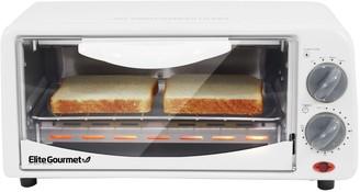 Elite Cuisine 2-Slice Toaster Oven
