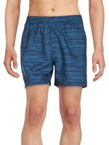 Puma Striped Ferrari Swim Trunks