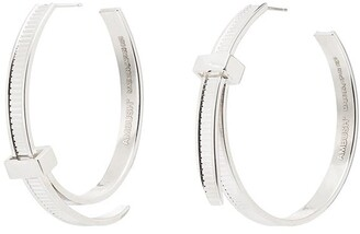Ambush Cable-Tie Hoop Earrings
