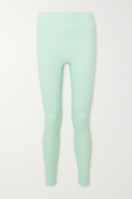 All Access Set List Striped Stretch Leggings - Mint
