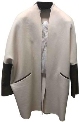 Agnona Beige Cashmere Jackets