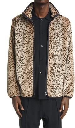 Needles W.U. Leopard Faux Fur Jacket