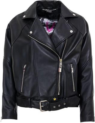 Pinko Zipped Biker Jacket