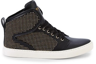 Steve Madden P-Stone Leather High-Top Sneakers