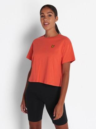 Lyle & Scott Crop T-Shirt - Paprika