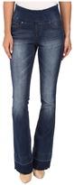 Jag Jeans Ella Pull-On Flare Comfort Denim in Durango Wash