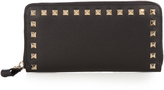 Valentino Rockstud leather continental wallet
