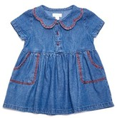 Margherita Infant Girl's Chambray Shirtdress