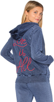 Sundry Light Terry Love Is All Hoodie