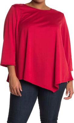 Marina Long Sleeve Poncho Top