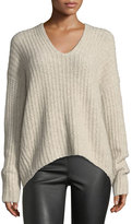 Vince Deep V-Neck Pullover Sweater