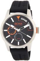 HUGO BOSS Men&s Tokyo Silicone Strap Watch